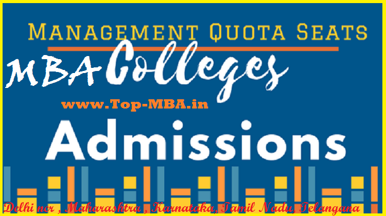 Direct MBA Admission Under Management Quota