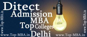 Delhi Direct Admission MBA